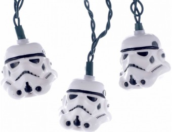 85% off Star Wars Stormtrooper 9-ft Christmas String Lights