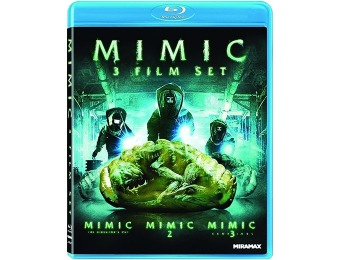 40% off Mimic 3 Film Set (Mimic / Mimic 2 / Mimic 3) Blu-ray
