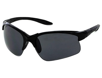 80% off Axcess by Claiborne Men's Black Wild Card Sunglasses