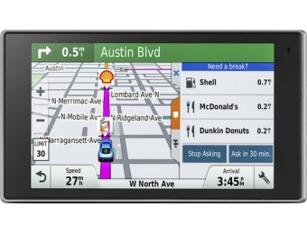 "$111 off Garmin DriveLuxe 50LMTHD 5"" GPS with Bluetooth"