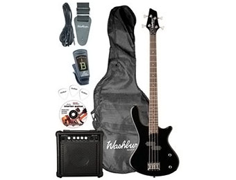 77% off Washburn Taurus T12 Electric Bass Pack
