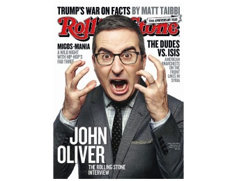 95% off Rolling Stone Magazine Subscription, $5 / 26 Issues