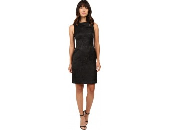 89% off Tahari by ASL Rollneck Shimmer Jacquard Sheath Dress