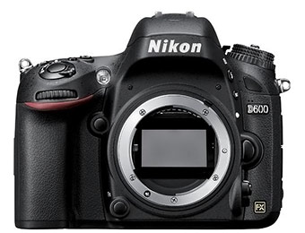 $400 off Nikon D600 24.3-Megapixel DSLR Camera (Body Only)