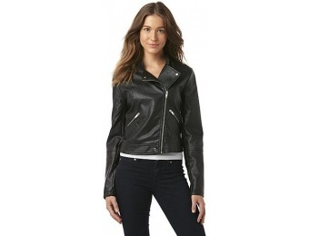 81% off Metaphor Women's Moto Jacket - Silver Filigree