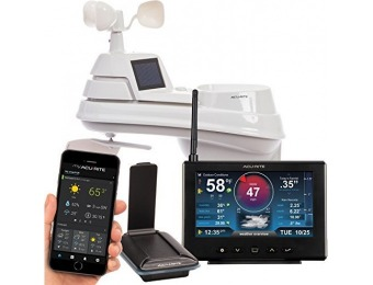 $71 off AcuRite Pro Weather Station w/ 5-in-1 Sensor, Remote Monitoring
