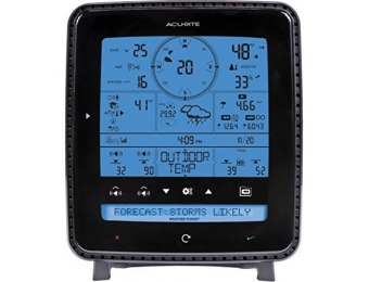 $57 off AcuRite Pro Weather Station with 5-in-1 Sensor and PC Connect