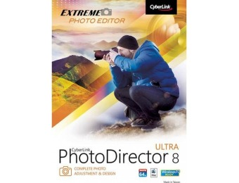 78% off Cyberlink PhotoDirector 8 Ultra - Mac|Windows