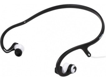 $40 off Philips SHQ4300WS/27 ActionFit Sportsband Headphones