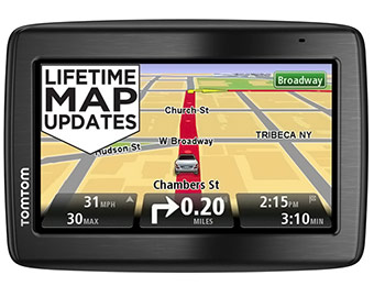 "$91 off TomTom VIA 1435M 4.3"" GPS with Lifetime Maps"