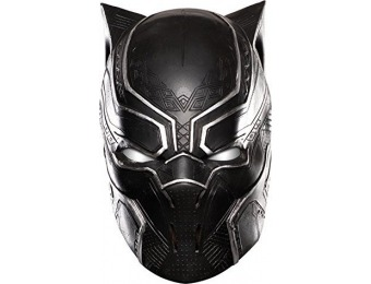 84% off Marvel Men's Black Panther Full Vinyl Mask