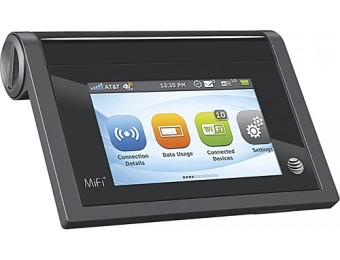 70% off AT&T MiFi Liberate 4G Mobile Hotspot - Black