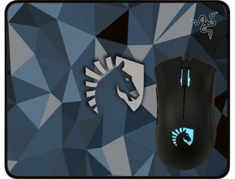 36% off Razer DeathAdder Gaming Mouse/Goliathus Mouse Mat Bundle