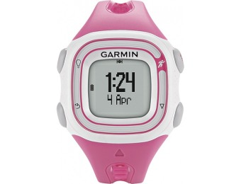 69% off Garmin Forerunner 10 GPS Women's Watch - Pink/White