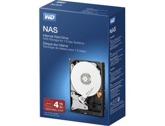 $50 off WD NAS 4TB Internal SATA Hard Drive for Desktops