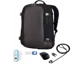 91% off Dell Backpack Premier PC Accessory Bundle