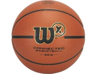 50% off Wilson X Connected Basketball - Tracks Shots & Stats