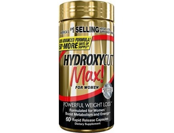 72% off Hydroxycut Max for Women Weight-Loss 60 Rapid Release