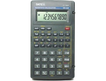 67% off Datexx DS-638 136-Function Scientific Calculator