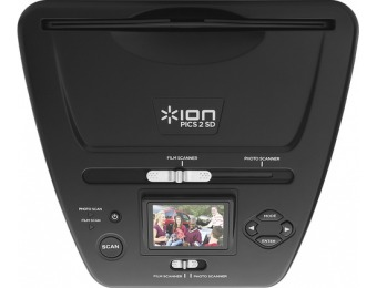 $90 off ION Pics 2 SD Plus Slide, Negative and Picture Scanner