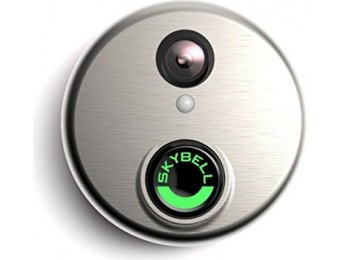 $135 off SkyBell HD Silver WiFi Video Doorbell