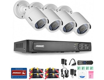 $335 off ANNKE 8CH 1080P HD-TVI H.264+ Video DVR Security System