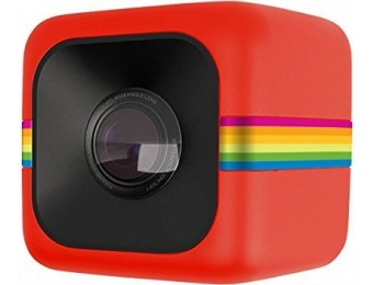 54% off Polaroid Cube HD 1080p Lifestyle Action Video Camera (Red)