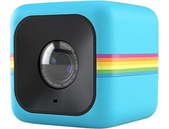 42% off Polaroid Cube HD 1080p Lifestyle Action Video Camera (Blue)