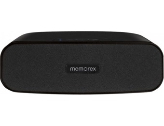 50% off Memorex MW212RC Portable Bluetooth Speaker