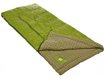 52% off Coleman Green Valley Cool Weather Sleeping Bag