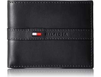 64% off Tommy Hilfiger Men's Ranger Leather Passcase Wallet
