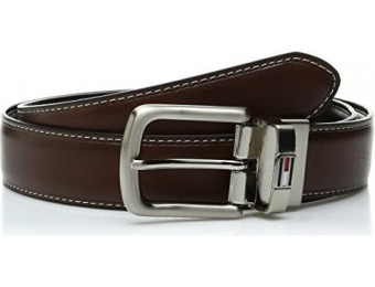 66% off Tommy Hilfiger Men's Leather Reversible Belt