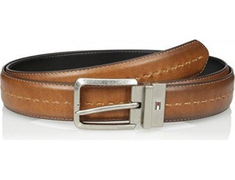 64% off Tommy Hilfiger Men's Stitch Detail Reversible Belt