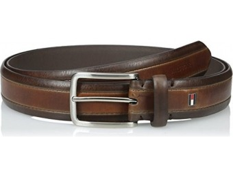 64% off Tommy Hilfiger Men's Big & Tall Two-Tone Dress Belt