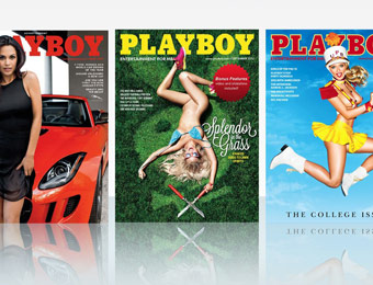 88% off Playboy Magazine Annual Subscription, $7.99 / 12 Issues