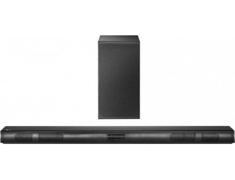 $130 off LG SH4 2.1-Ch Soundbar System w/ Wireless Subwoofer