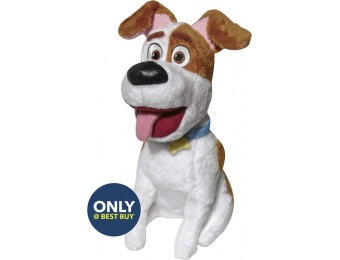 83% off Secret Life of Pets Max Plush Toy