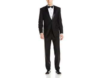 $140 off Calvin Klein Men's Modern Fit 100% Wool Tuxedo