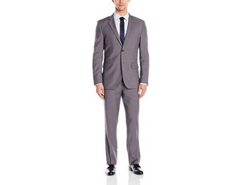 67% off Nautica Men's Vertical 2 Button Side Vent Nested Suit