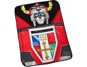 "30% off Voltron Fleece Throw Blanket 45"" x 60"""