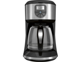 38% off Black & Decker CM4000S 12-Cup Coffeemaker