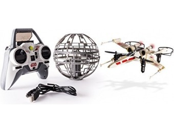 $107 off Air Hogs Star Wars X-wing vs. Death Star RC Drones