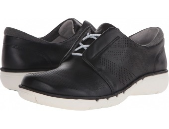 $77 off Clarks Un Voltra Black Leather Women's Shoes