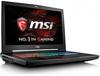 "$1,099 off MSI VR GT73VR Titan Pro-201 17.3"" Extreme Gaming Laptop"