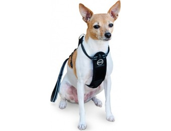 "$110 off K&h Pet Products Travel Safety Harness Small Black 12""-18"""