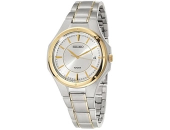 74% off Seiko Men's Bracelet Stainless Steel/Gold Watch