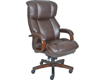 $250 off La-Z-Boy Fairmont Big & Tall Executive Leather Office Chair