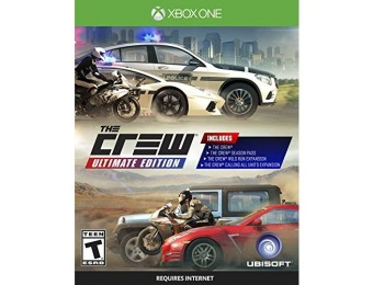 51% off The Crew Ultimate Edition - Xbox One