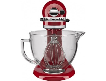 $200 off KitchenAid Tilt-Head Stand Mixer - Empire Red