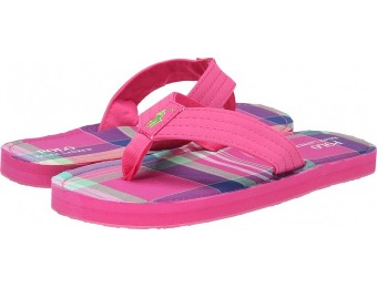 $23 off Polo Ralph Lauren Kids Theo Girls Flip Flops